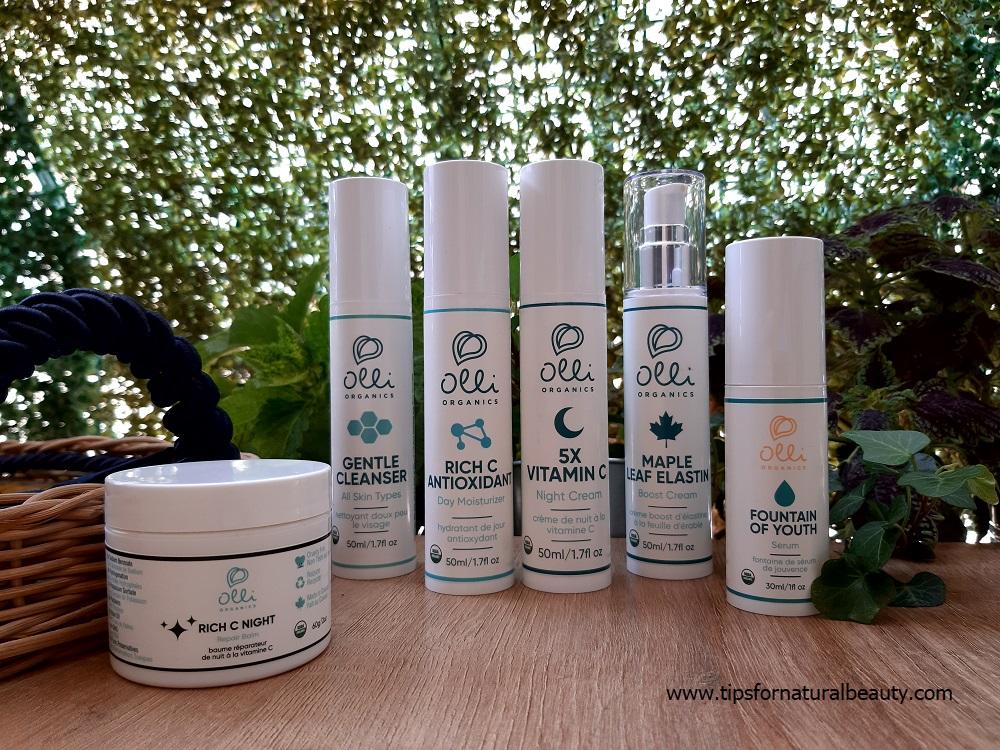 Revisión del cuidado de la piel de Olli Organics